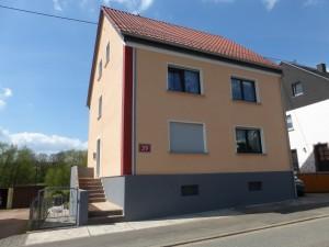Fassade Oberthal nachher